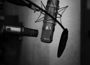 Microphones for voice overs